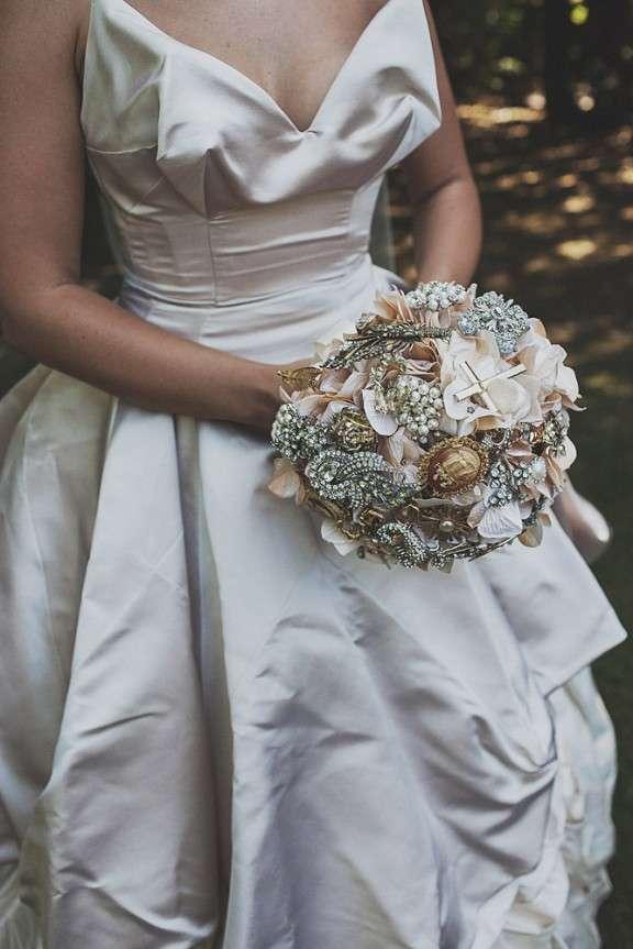 Opulent vivienne westwood inspired wedding sashy dashy for Rock n roll wedding dress