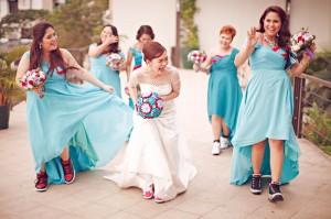 Sneaker Themed Wedding In The Philippines Jq Amp Barbie