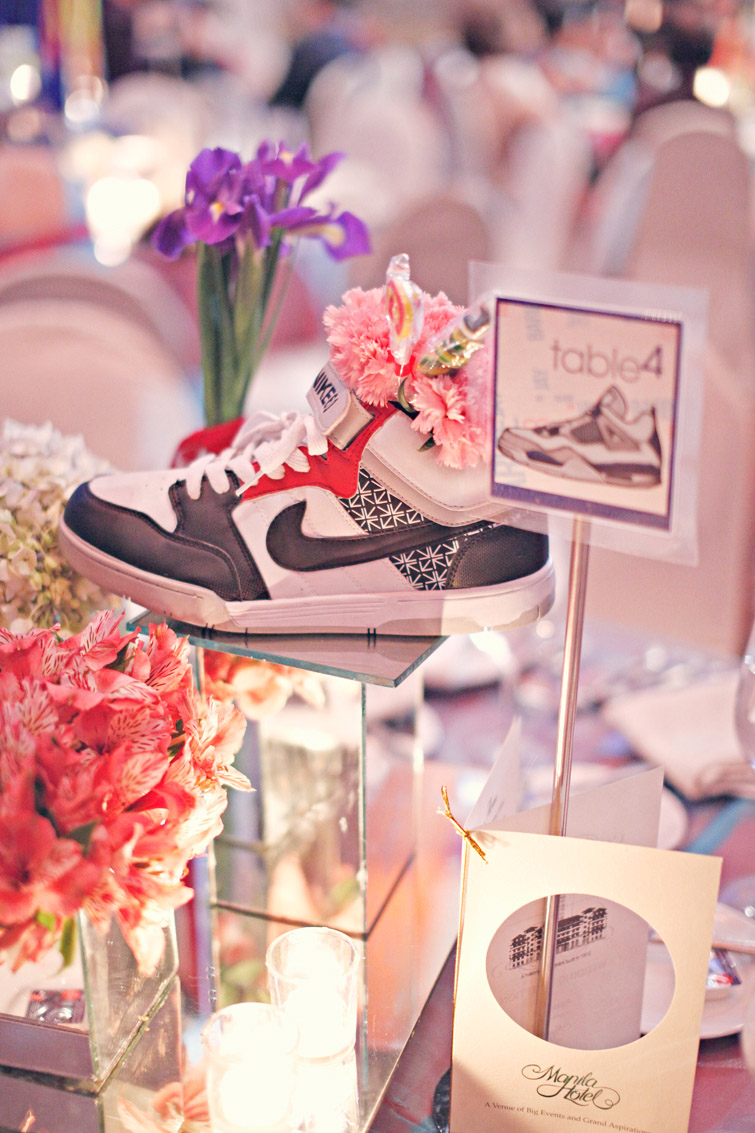 Sneaker Themed Wedding in The Philippines: JQ & Barbie · Rock n Roll ...