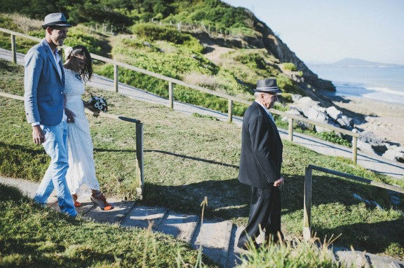 Anna & Jarrah Wedding on beach Pretty Days Photographer 090