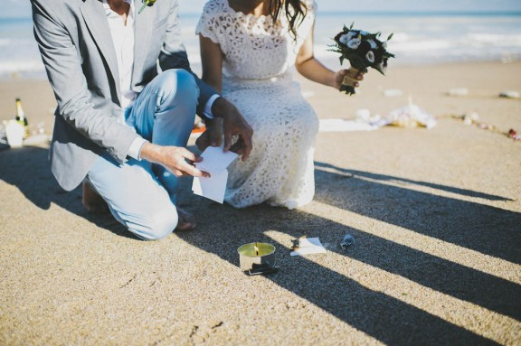 Anna & Jarrah Wedding on beach Pretty Days Photographer 143