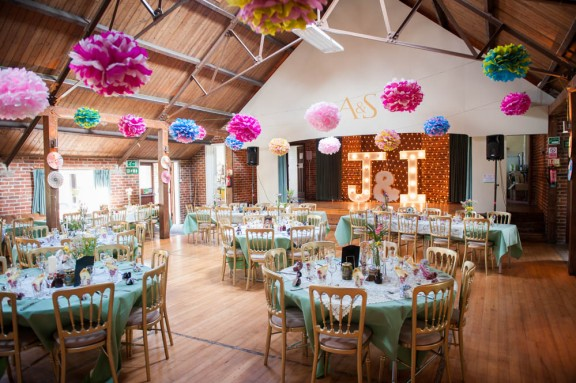 Wedding Room Decorations North East : Vintage village hall wedding ian jacqui ? rock n roll bride
