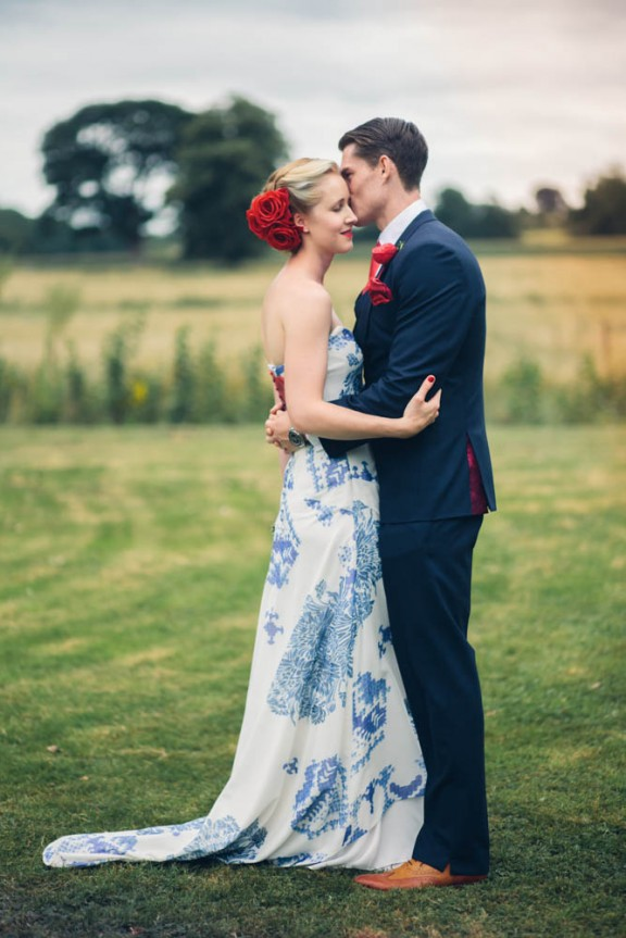 Elegant Red, White and Blue Wedding: Cameron & Lizzy · Rock n Roll Bride