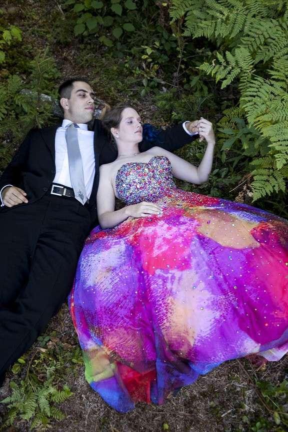 Rainbow Summer Camp Wedding: Sara & Joe · Rock n Roll Bride