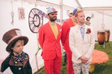 Alice in Wonderland Festival Field Wedding Sussex Alternative Brighton Wedding Photographer-261