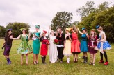 Alice in Wonderland Festival Field Wedding Sussex Alternative Brighton Wedding Photographer-448
