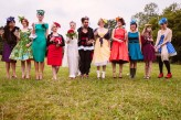 Alice in Wonderland Festival Field Wedding Sussex Alternative Brighton Wedding Photographer-456