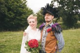 Alice in Wonderland Festival Field Wedding Sussex Alternative Brighton Wedding Photographer-506