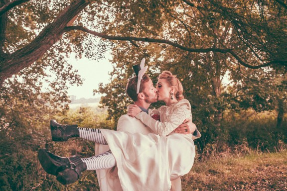 Alice in Wonderland Festival Field Wedding Sussex Alternative Brighton Wedding Photographer-634
