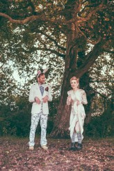 Alice in Wonderland Festival Field Wedding Sussex Alternative Brighton Wedding Photographer-641