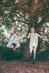Alice in Wonderland Festival Field Wedding Sussex Alternative Brighton Wedding Photographer-645-1