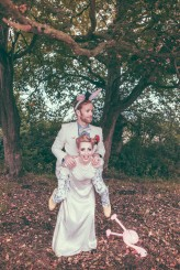 Alice in Wonderland Festival Field Wedding Sussex Alternative Brighton Wedding Photographer-645