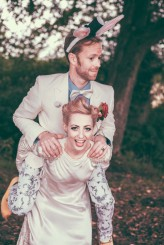 Alice in Wonderland Festival Field Wedding Sussex Alternative Brighton Wedding Photographer-646