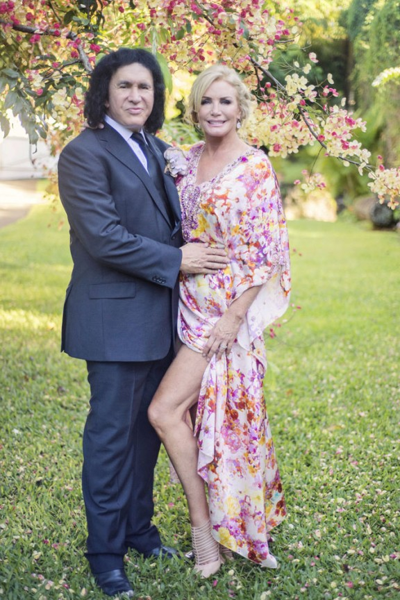 Gene Simmons Vow Renewal Rock N Roll Bride Trish Barker Photography68a