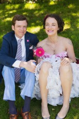 pink ombre wedding dress20