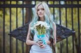 ukrainian wedding blue hair bride16