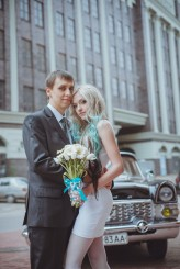 ukrainian wedding blue hair bride19