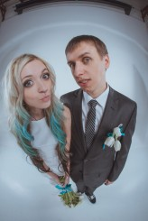 ukrainian wedding blue hair bride32