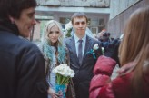 ukrainian wedding blue hair bride6