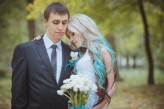ukrainian wedding blue hair bride8