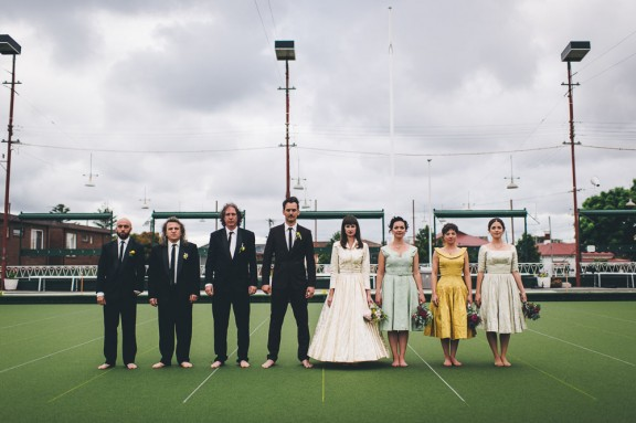 1950s Inspired Melbourne Bowls Club Wedding Jakob Amp Zoey
