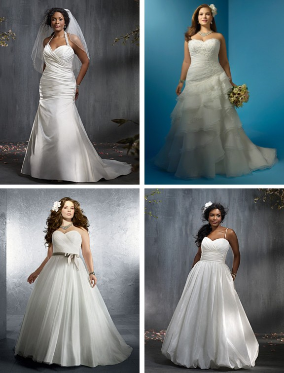 alfred angelo plus size