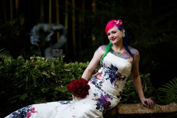 face and body paint wedding20