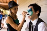 face and body paint wedding58