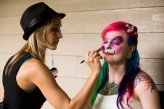 face and body paint wedding60