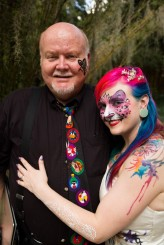 face and body paint wedding63