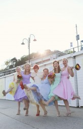 marine theater wedding lyme regis haywood jones alternative wedding photograhy 82_1