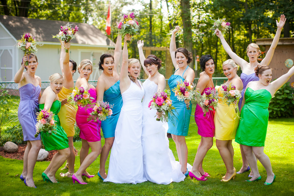 Rainbow wedding in the heart of niagara amanda briar rock n amanda and briar 1000 wide 27 junglespirit Gallery
