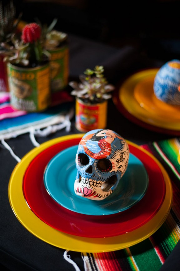 Goth Club Dia de Los Muertos Wedding: Lauren & Ralf · Rock n Roll Bride