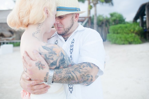 Vintage Tattooed Fairytale Tulum Beach Wedding wedding_EvangelineLane-54e