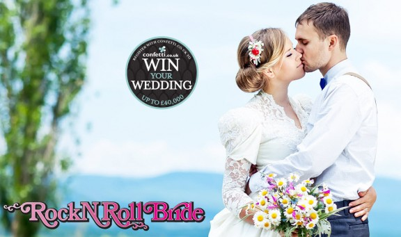 win your wedding with confetti and rocknrollbride