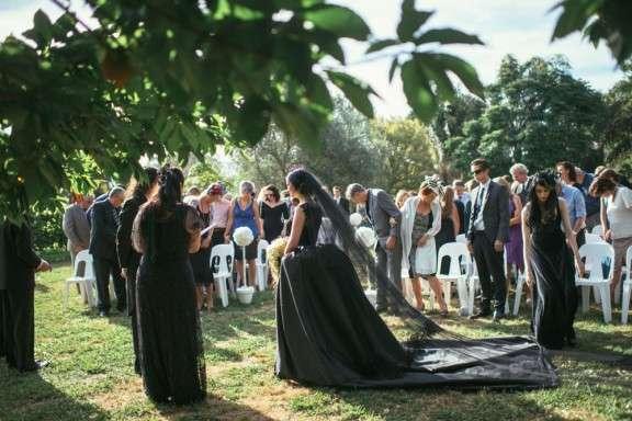 Victorian Gothic Wedding Dresses 60 Trend Goth NZ Wedding Nisha