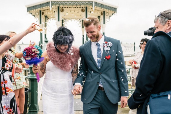 Daffodil Waves Photography - Brighton Bandstand Wedding - Harry and Steph192