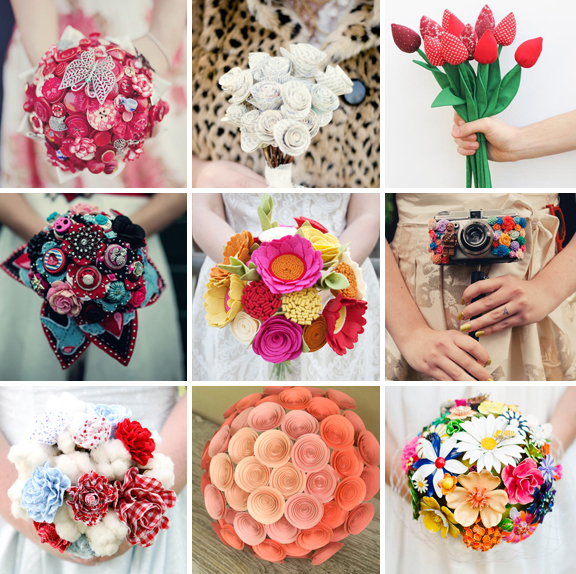 33 Alternative Bouquet Ideas For Non-Traditional Brides · Rock n ...