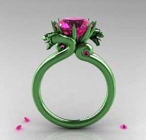 Purple Wedding Ring 29 Epic