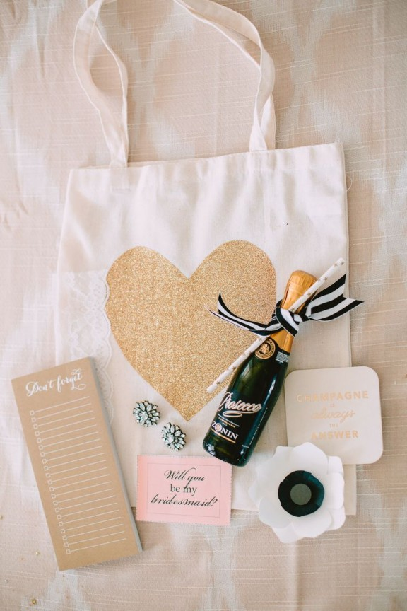 bridesmaids gift bag