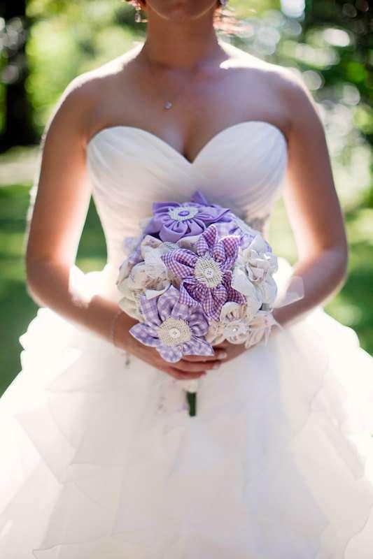 Wedding Bouquet Ideas 36 Unique fabric bouquet