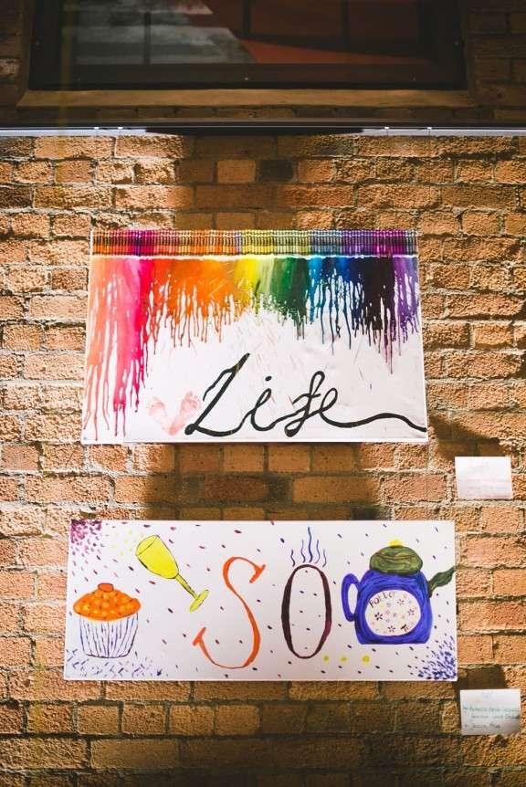 Rainbow Arts and Crafts Wedding: Becki & Elliott · Rock n ...