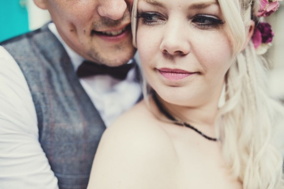 Lisa Jane Photography - Islington Metal Works Skull Wedding -054