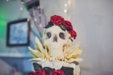 Lisa Jane Photography – Islington Metal Works Skull Wedding -062
