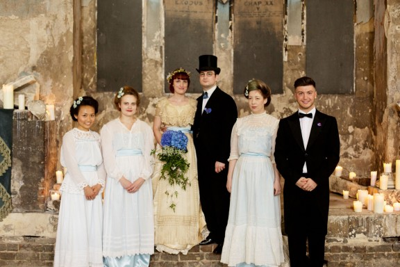 Edwardian Wedding Dresses 14 Ideal edwardian wedding asylum chapel