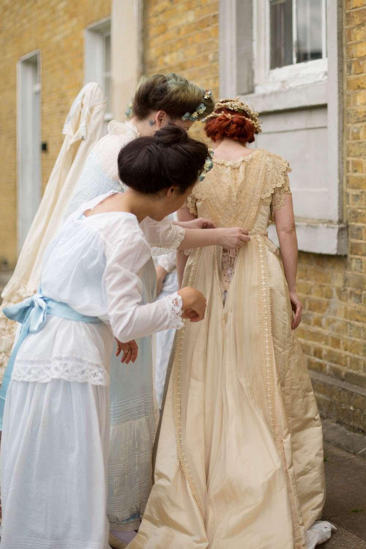 Edwardian Wedding Dresses 38 Amazing edwardian wedding asylum chapel