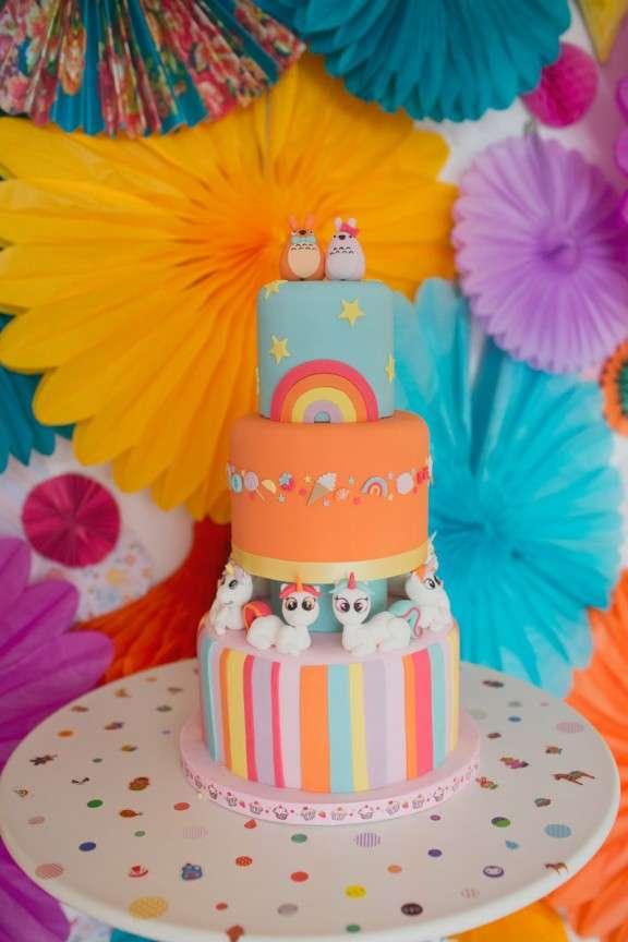 Rainbow Wedding Cakes 17 Inspirational Harajuku Totoros and rainbow