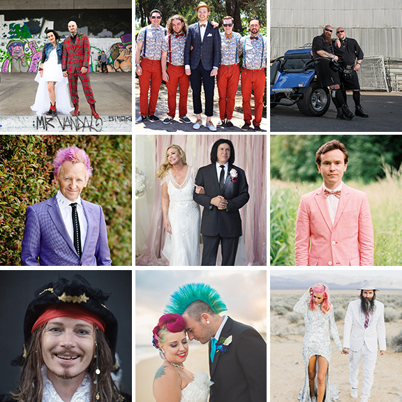 punks goths grunge groom style ideas