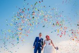 rainbow seaside wedding photography-104