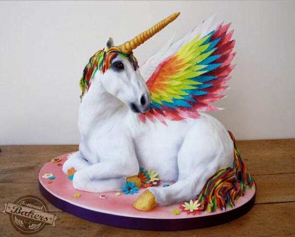 tattooed bakers unicorn